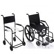 Kit Cadeira De Banho e Cadeira de Rodas