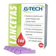 Lanceta cx c/100 unidades G-Tech