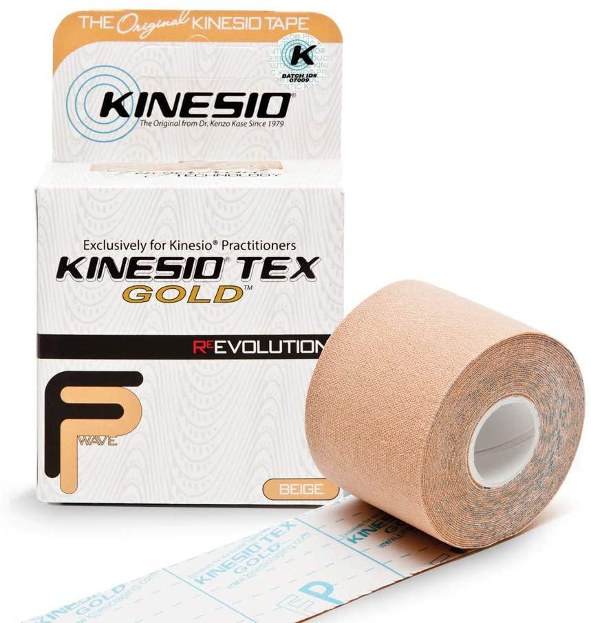 Bandagem elástica Kinesio Tex Gold 5M x 5CM