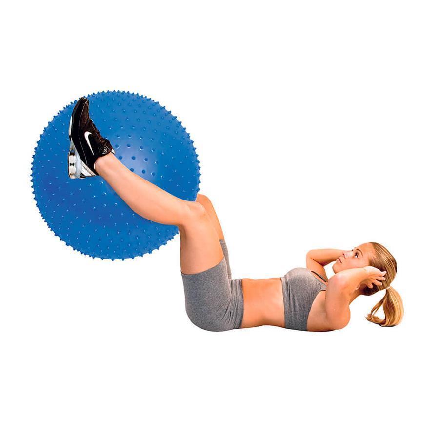Bola de Ginástica Acte Sports T9 Massageadora  - 65cm
