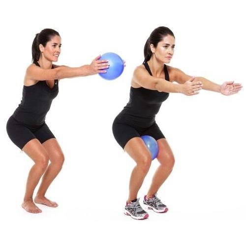Bola Super Overball Supermedy para Pilates e Alongamento