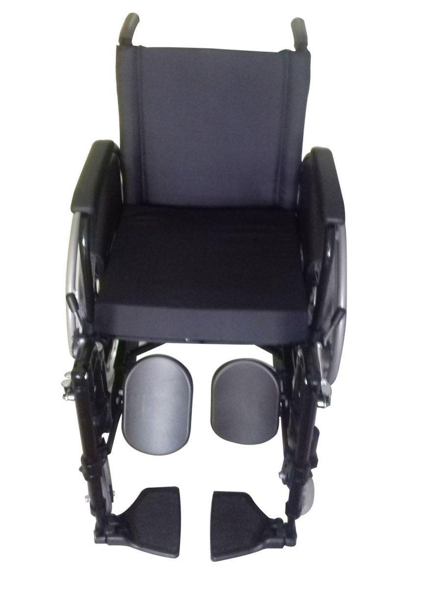 Cadeira de Rodas de Alúminio AVD Com Pés Eleváveis Ortobras