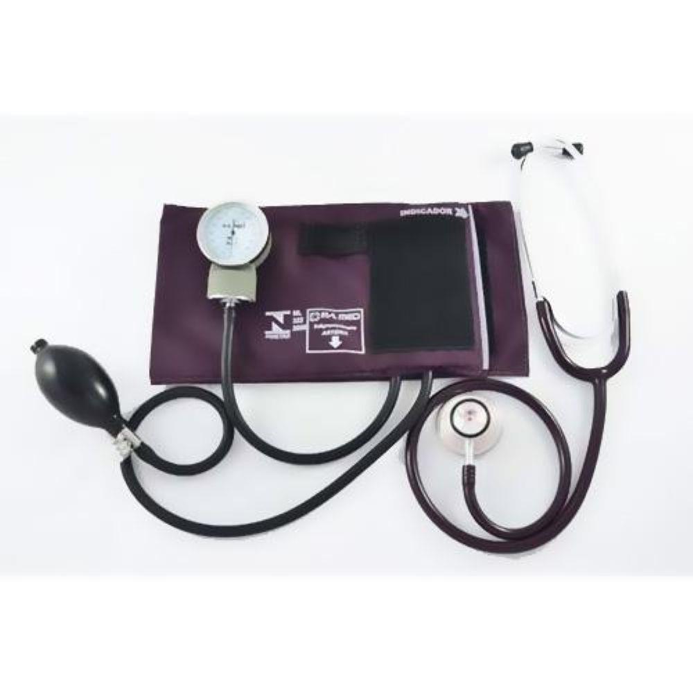 Esfigmomanômetro c/ Estetoscópio P.A MED