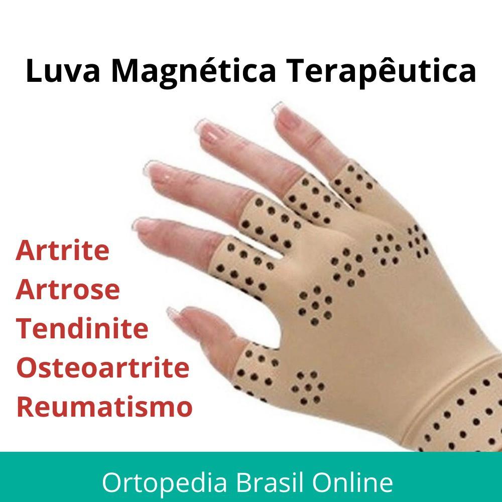 Luvas Terapia Magnética com Turmalina