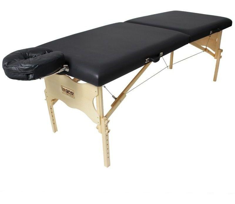 Maca De Massagem Portátil Com Altura Regulável Legno