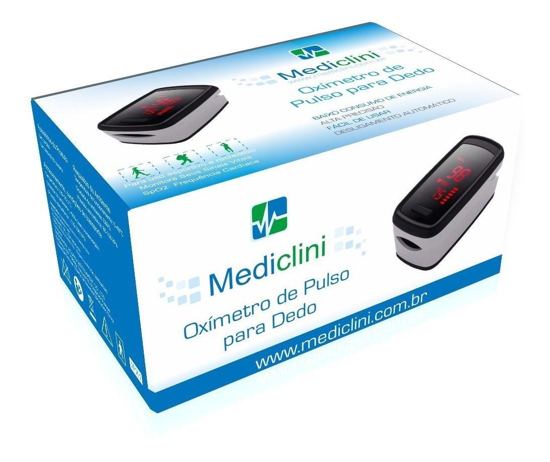 Oxímetro de Pulso para Dedo Mediclini