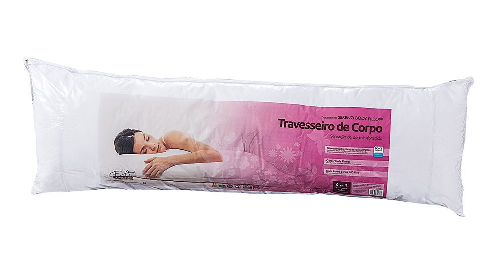 Travesseiro Sereno de Corpo F.A