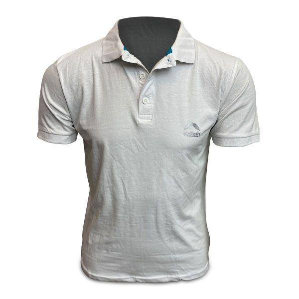 Camisa Polo Kailash - Branca