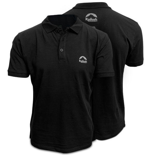 Camisa Polo Kailash - Preta