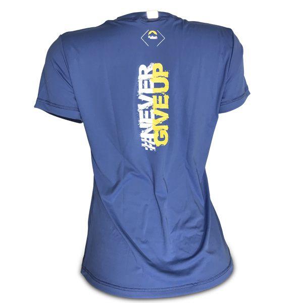 Camiseta Beach Tennis Coqueiro Feminina | Azul