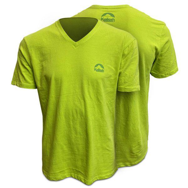 Camiseta Kailash Gola V - Limão