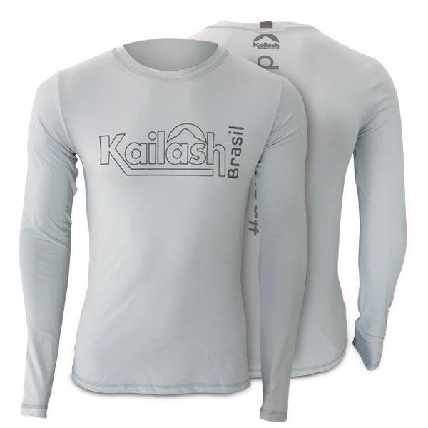 Camiseta Masculina Kailash Manga Longa (OUTLET)