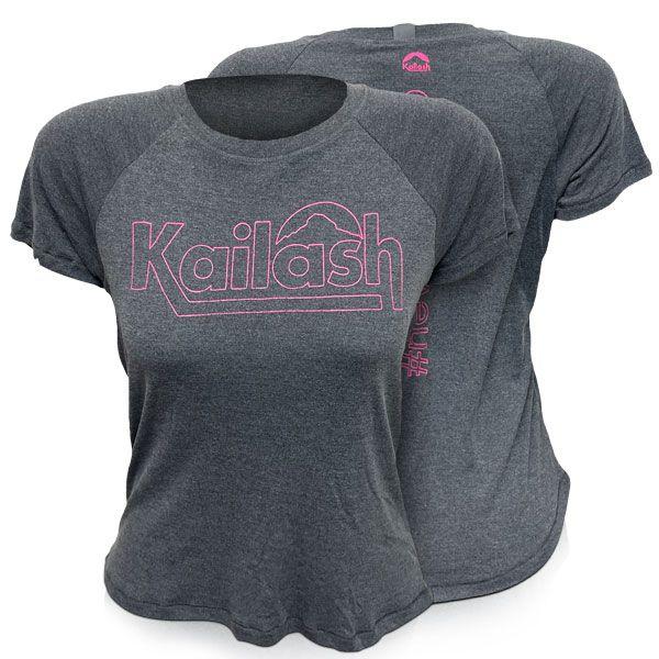 Camiseta Mescla Kailash Feminina