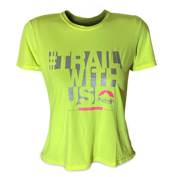Camiseta LITE Trail With Us - FEMININA