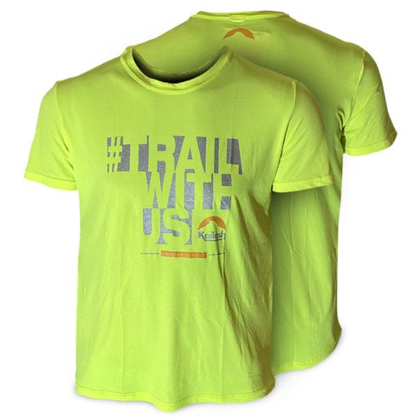 Camiseta LITE Trail With Us - MASCULINA