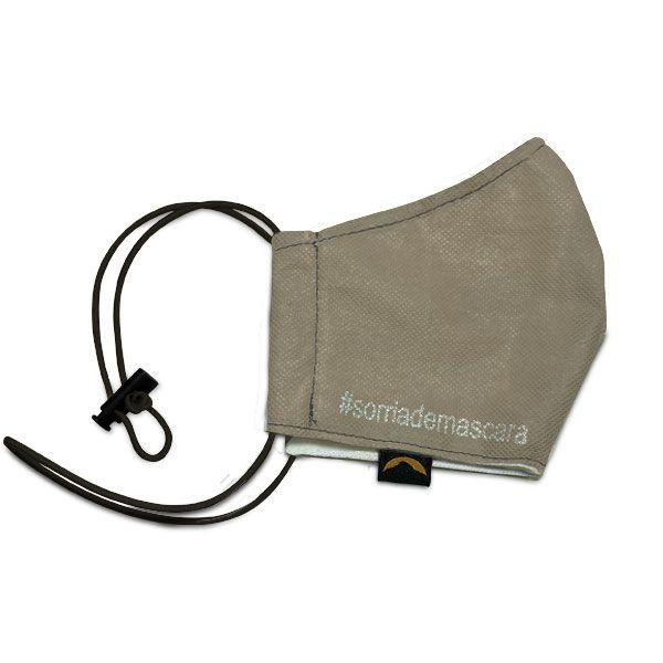 Máscara de Proteção Facial - Com Regulador (Dupla Camada e tecido antiviral)