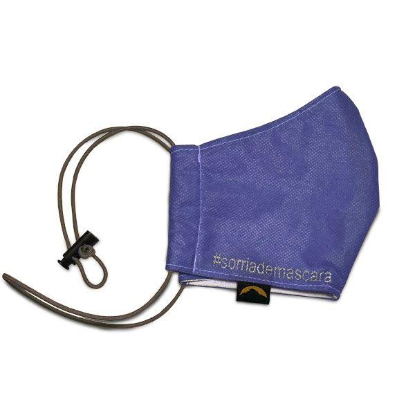Máscara de Proteção Facial Adulto - Com Regulador (Tecido Antiviral)