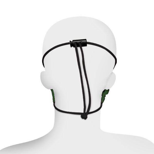 Máscara ADULTO Facial de proteção - Modelo com Regulador