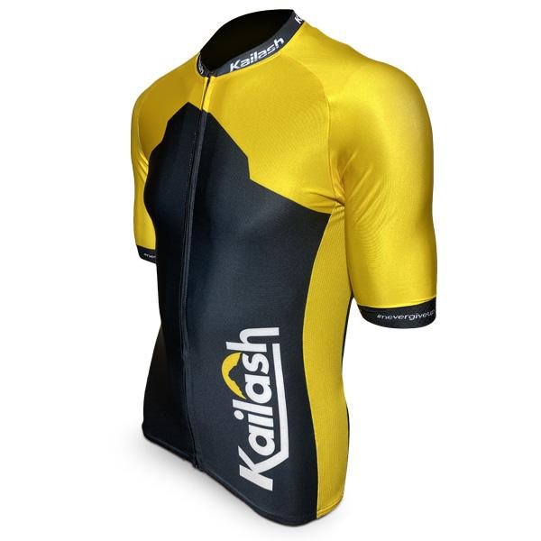 Camiseta RACE Bike Masculina Yellow (LANÇAMENTO)