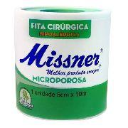 Fita Micropore Branca Missner 5cm X 10m (18 Und)