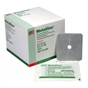 Curativo Estéril P/ Traqueostomia Metalline 8x9 Cm (30un)