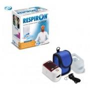 Kit Respiron + Oxímetro De Dedo Medidor Saturação Oxigênio