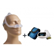 Máscara Nasal Dreamwear - Philips Respironics + Oxímetro c/ Alarme Dellamed
