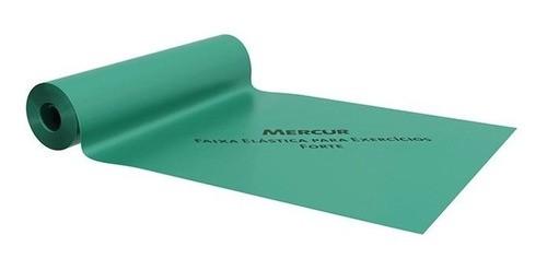Faixa Elástica Para Exercícios Mercur 2 Metros - Cor Verde