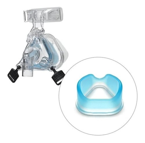 Almofada Gel E Silicone Mascara Nasal Comfortgel Blue M