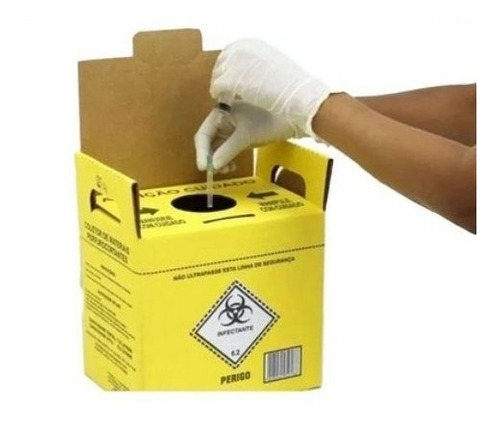 Caixa Coletora Material Perfurocortante Descarpack 3l (5und)