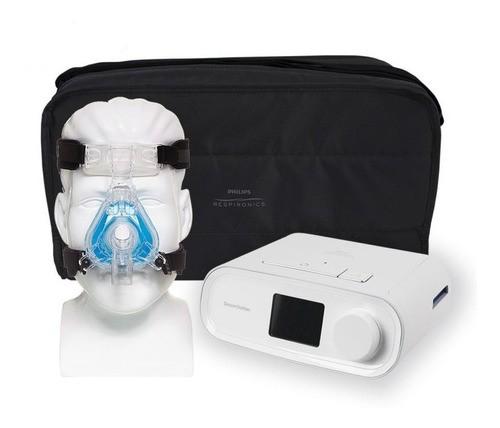 Cpap Dreamstation Auto Philips Respironics + Máscara Nasal Comfortgel Blue