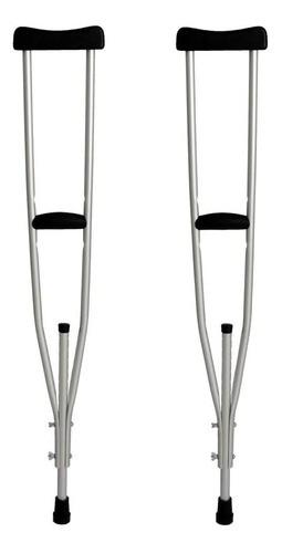 Muleta Axilar Alumínio Indaiá (par)