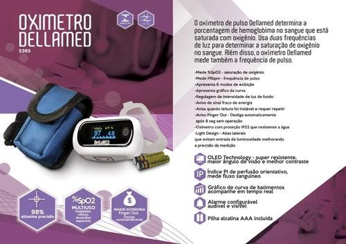 Oxímetro Dellamed c/ Alarme