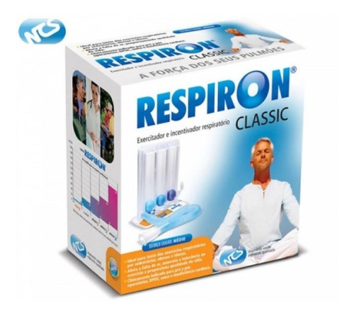 Respiron Classic P/ Fisioterapia Respiratória (7 Unidades)