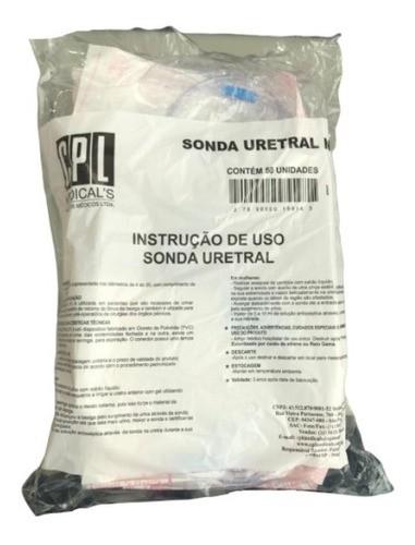 Sonda Uretral Nr 12 Pacote C/ 150 Unidades Cpl