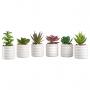 3 Vasinho Suculenta Artificial Vaso Decoração Ambiente Festa