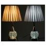 Abajur Luminária Quarto Sala Criado Mudo Cristal / ABJ503