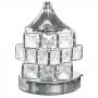 Abajur Luminária Quarto Sala Criado Mudo Cristal / ABJ996