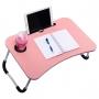 Mesa Portátil Dobrável P/ Notebook Cama Home Office Refeição (E)