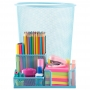 Porta Lápis + Lixeira P/ Escritório Mesa Estudos Home Office / HO-303