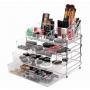 Porta Maquiagem Em Acrílico Organizador 3 Gavetas Grandes / ORG-002