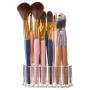 Porta Pincel Lápis Caneta Organizador Em Acrílico Maquiagem