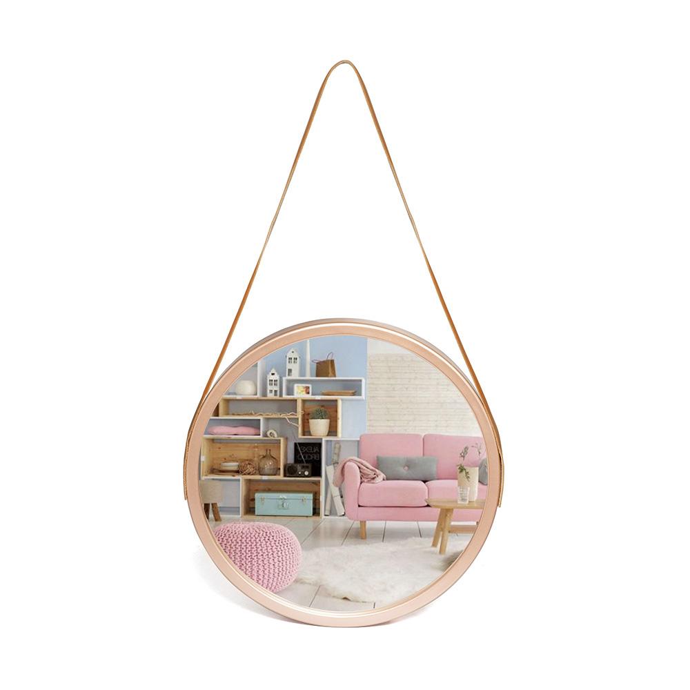 Espelho Grande De Parede Alça Decoração Ambiente 33 Cm / ES-833