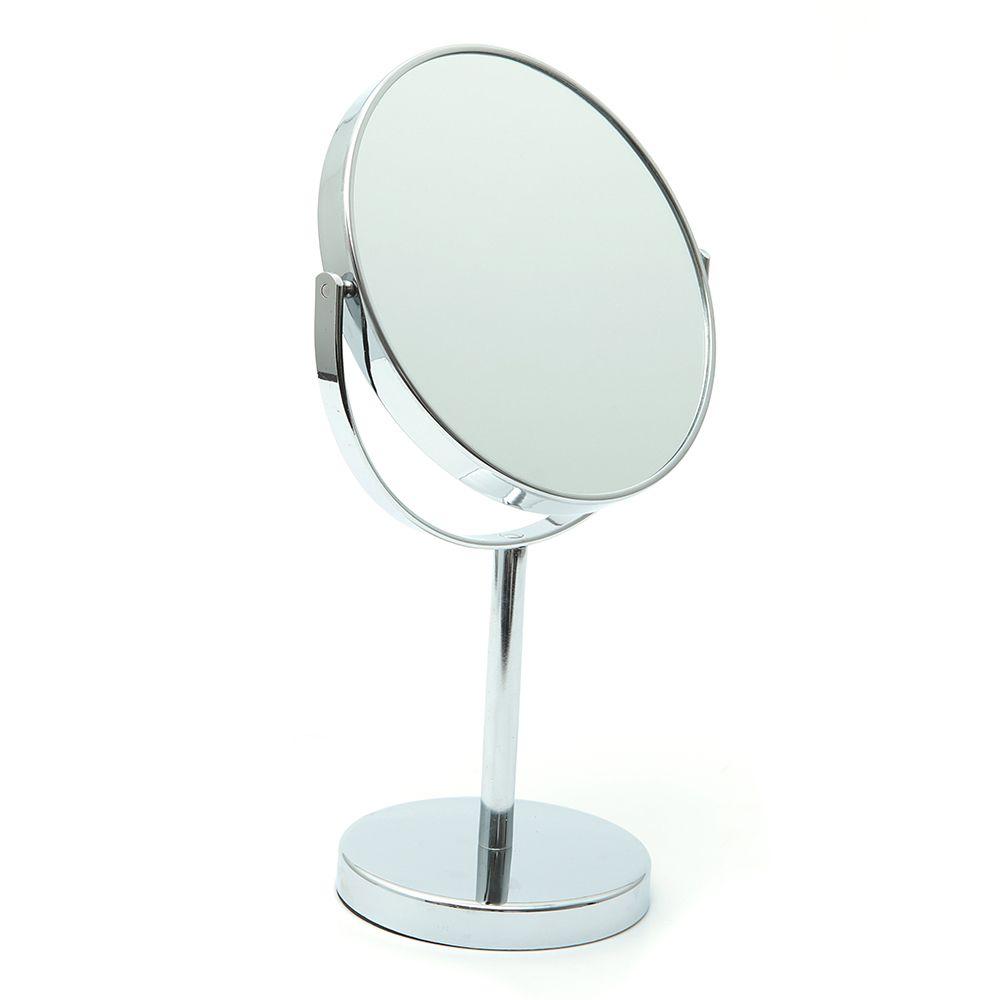 Espelho Para Maquiagem De Mesa Grande Dupla Face 5x Aumento / ESP031