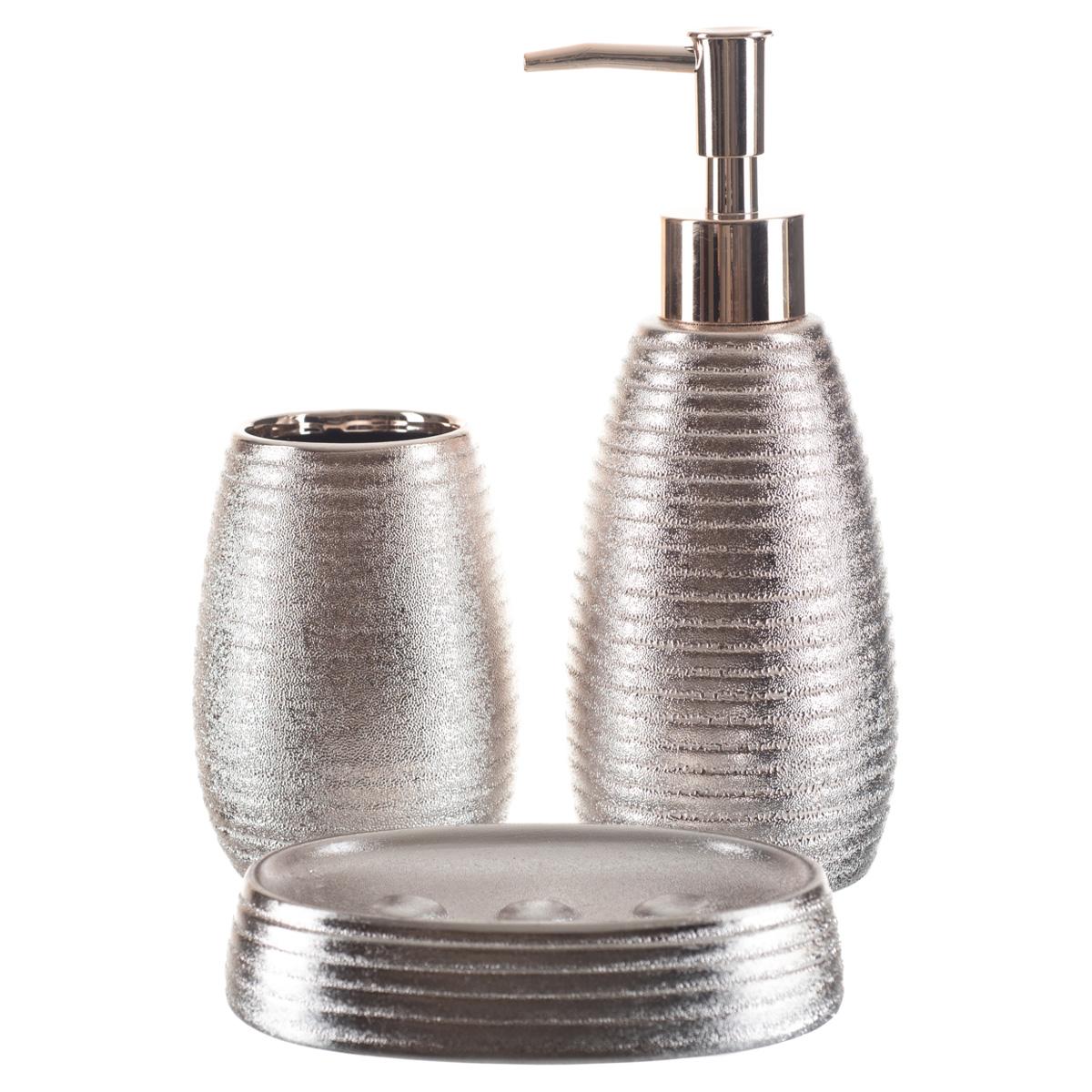 Kit Banheiro Lavabo Dispenser Sabonete Líquido Gel / 136