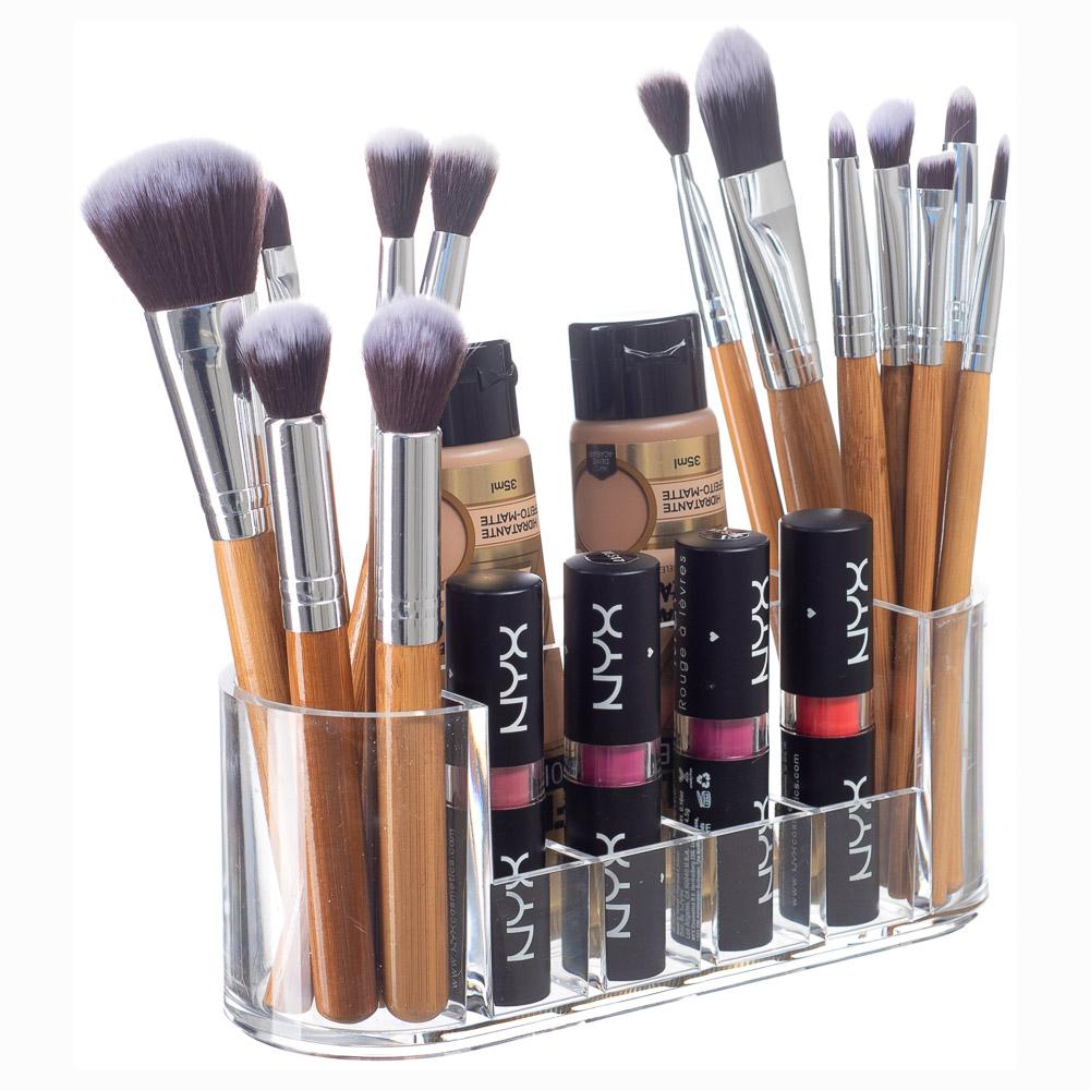Organizador Porta Pincel Maquiagem Lápis Acrílico ORG-279