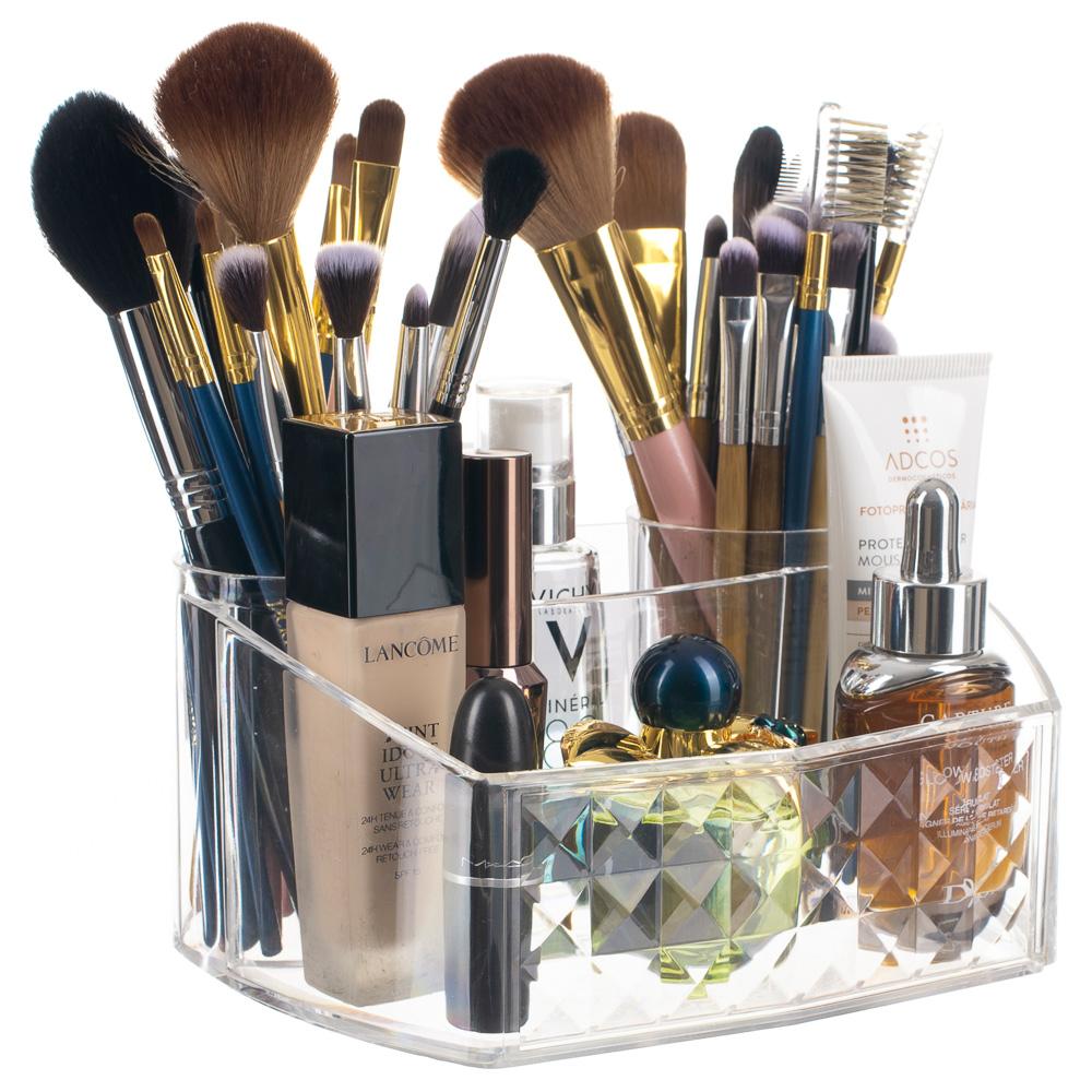 Porta Maquiagem Pincel Perfume Escova De Cabelo Diamond / DMD307