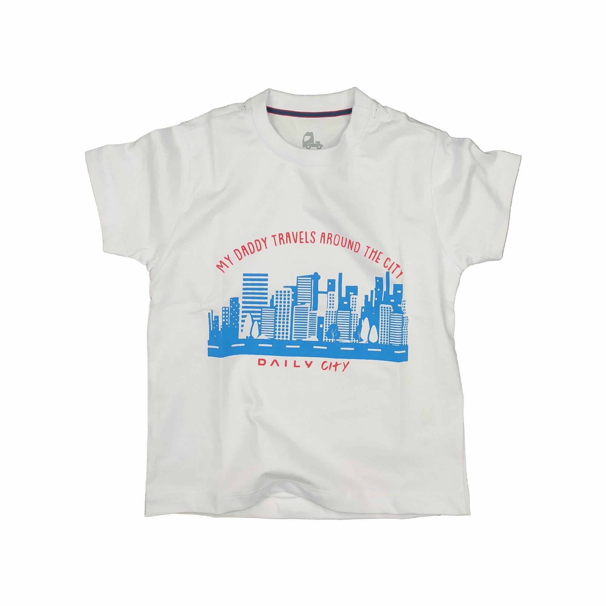 T-SHIRT INFANTIL CITY