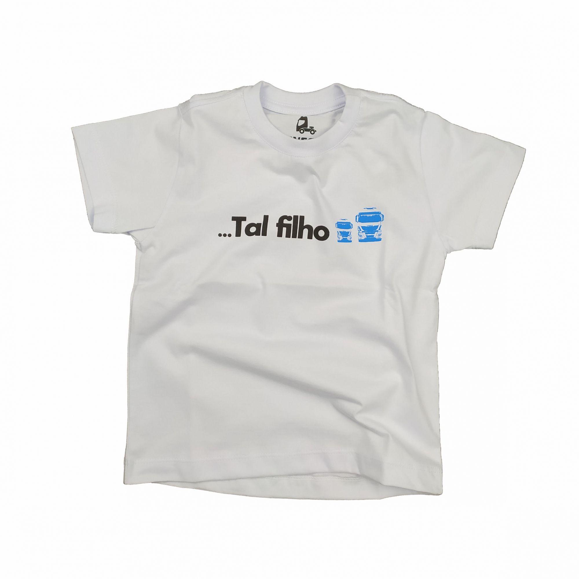 T-SHIRT INFANTIL TAL PAI TAL FILHO