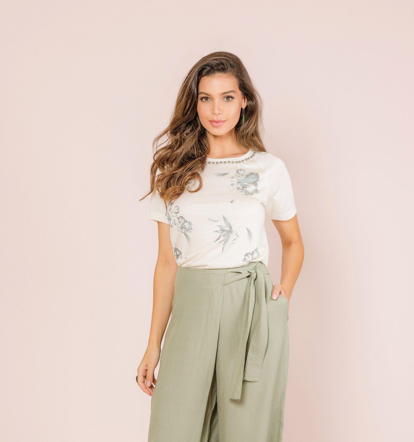 Blusa Linen Glam
